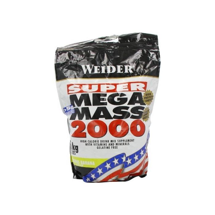 Super mega mass 2000 5 kg gainere 4fit for Palazzi super mega