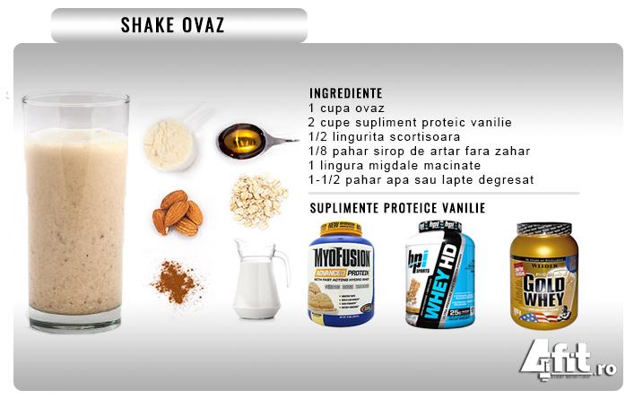 shake proteic pentru slabit reteta