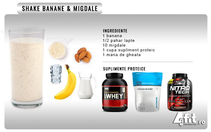 shake proteic reteta