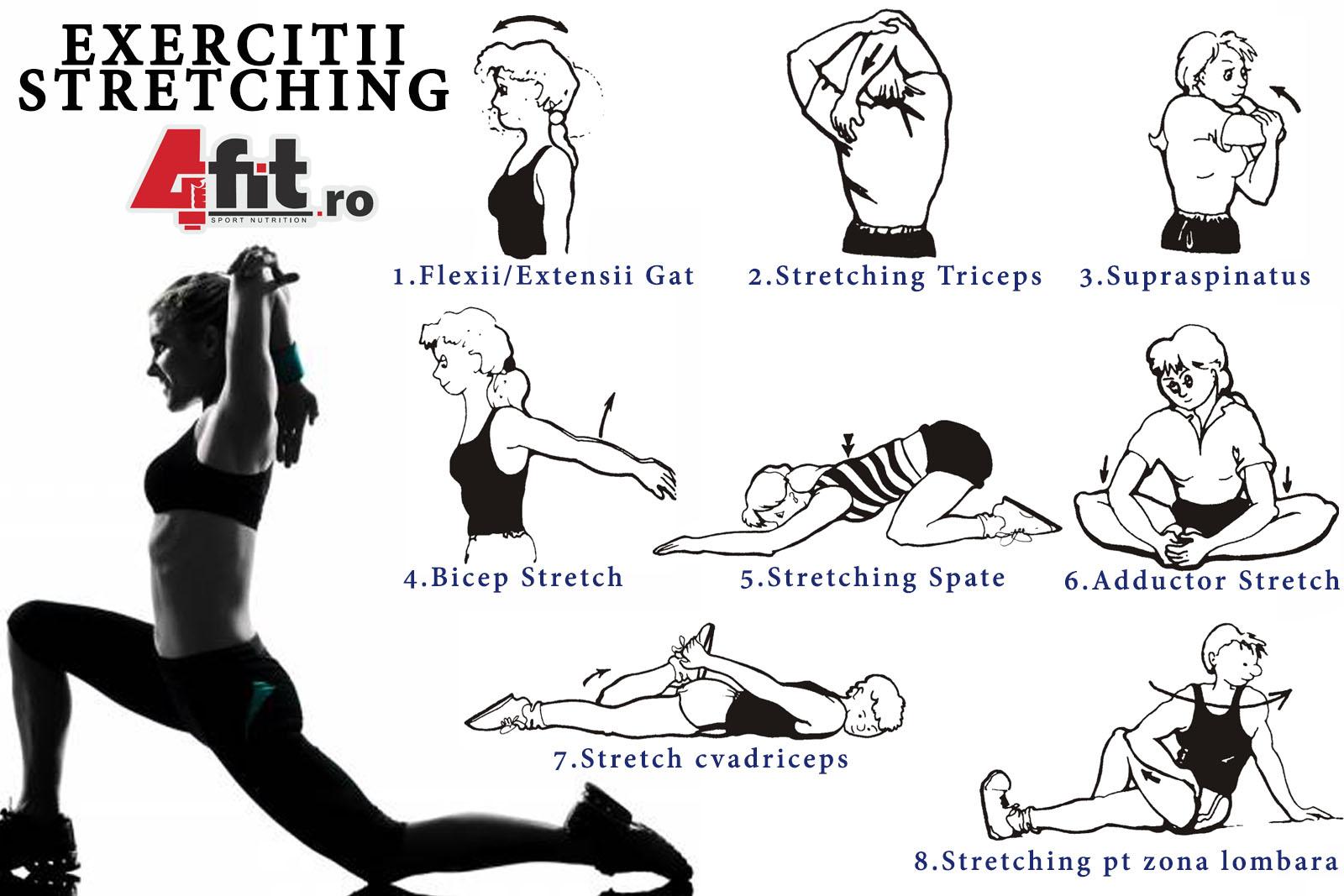exerciții de relaxare